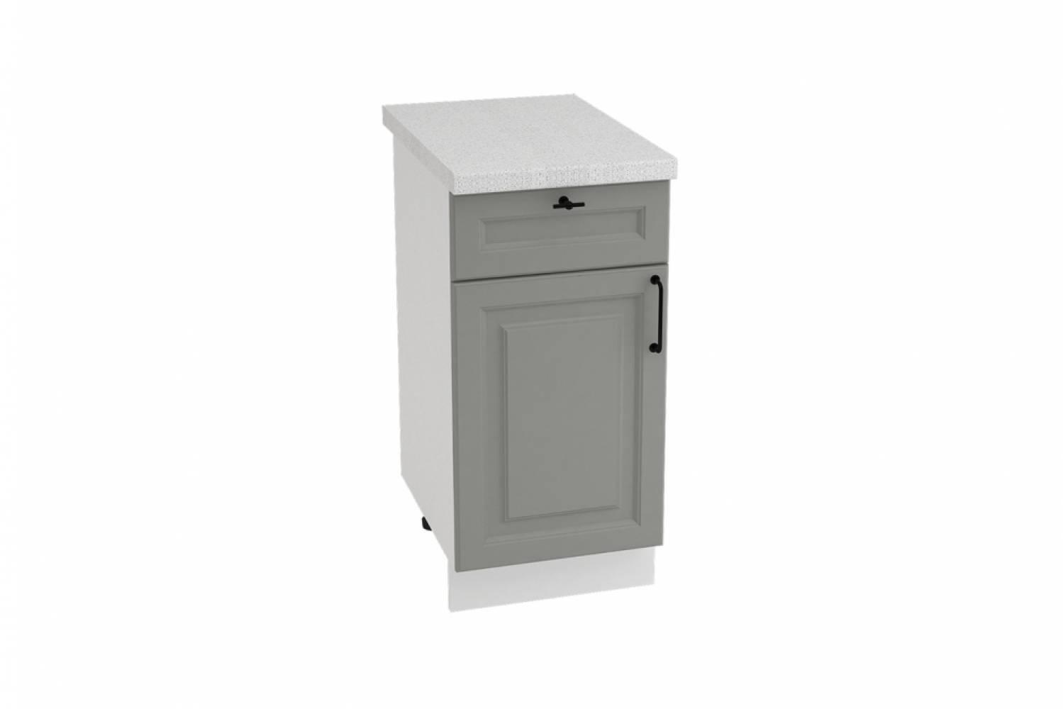 Шкаф нижний с 1 ящиком ШН1Я 400 НИЦЦА ROYAL (MAGNUM) 400 мм