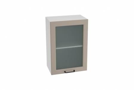 Шкаф верхний со стеклом ШВС 500 НИЦЦА ROYAL (OMNIA) 500 мм