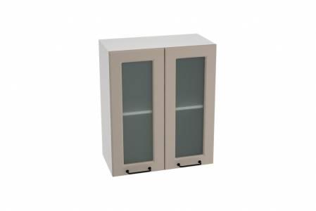 Шкаф верхний со стеклом ШВС 600 НИЦЦА ROYAL (OMNIA) 600 мм