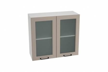 Шкаф верхний со стеклом ШВС 800 НИЦЦА ROYAL (OMNIA) 800 мм