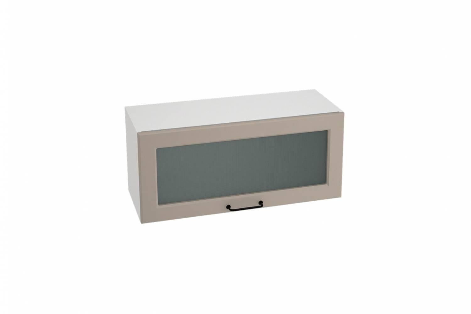Шкаф верхний горизонтальный со стеклом ШВГС 800 НИЦЦА ROYAL (OMNIA) 800 мм
