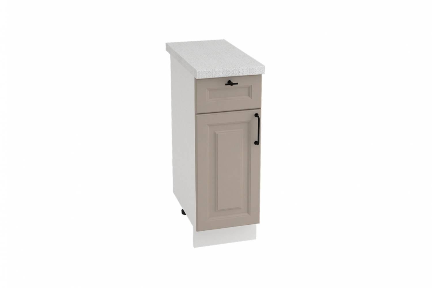 Шкаф нижний с 1 ящиком ШН1Я 300 НИЦЦА ROYAL (OMNIA) 300 мм