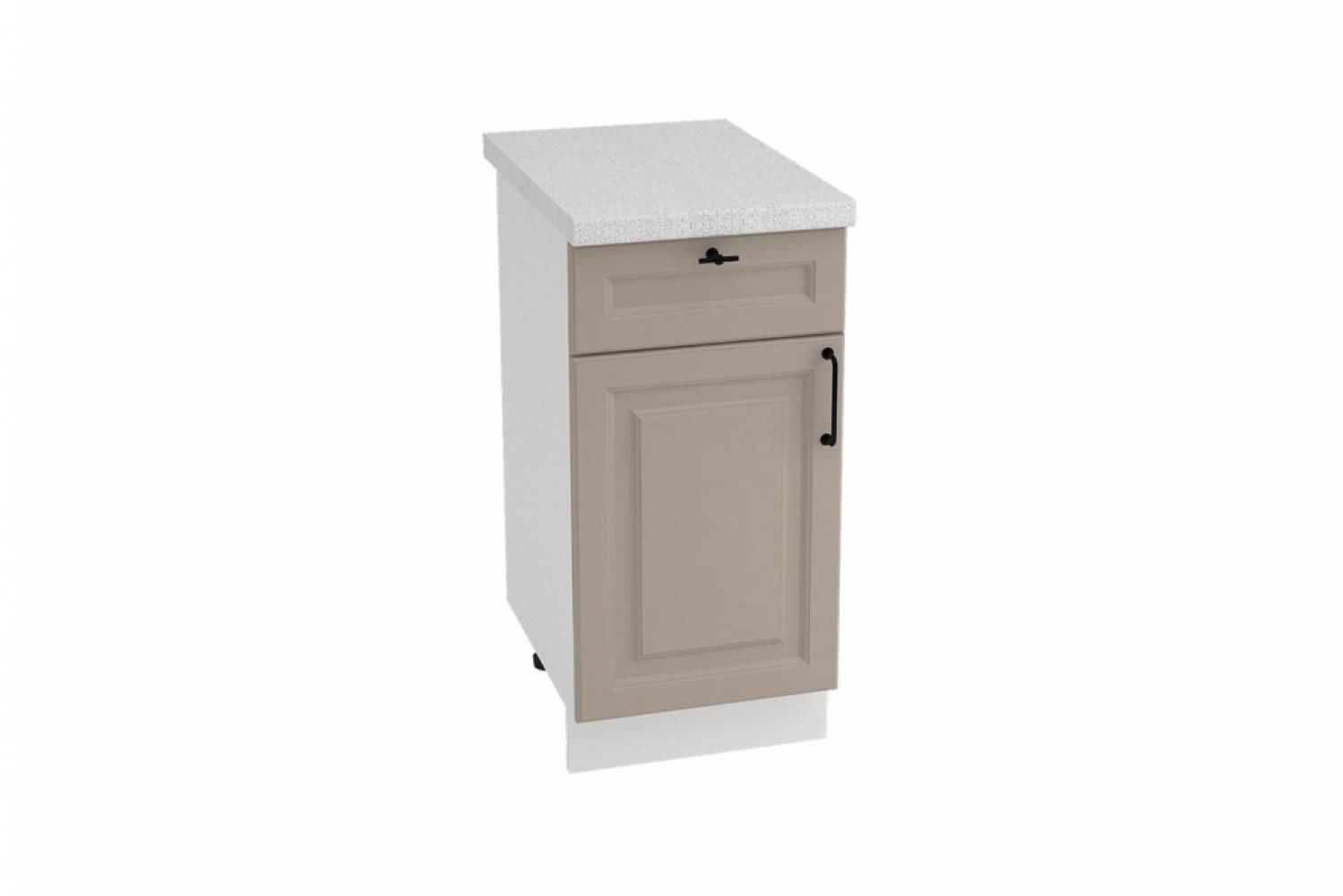 Шкаф нижний с 1 ящиком ШН1Я 400 НИЦЦА ROYAL (OMNIA) 400 мм