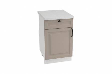 Шкаф нижний с 1 ящиком ШН1Я 500 НИЦЦА ROYAL (OMNIA) 500 мм
