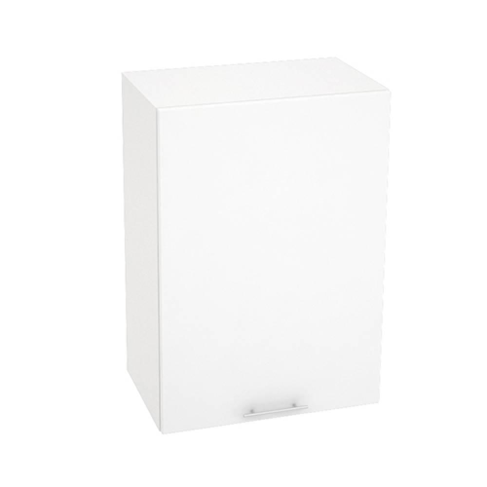 Шкаф верхний ШВ 500 ВАЛЕРИЯ 1 (Белый глянец) 500 мм