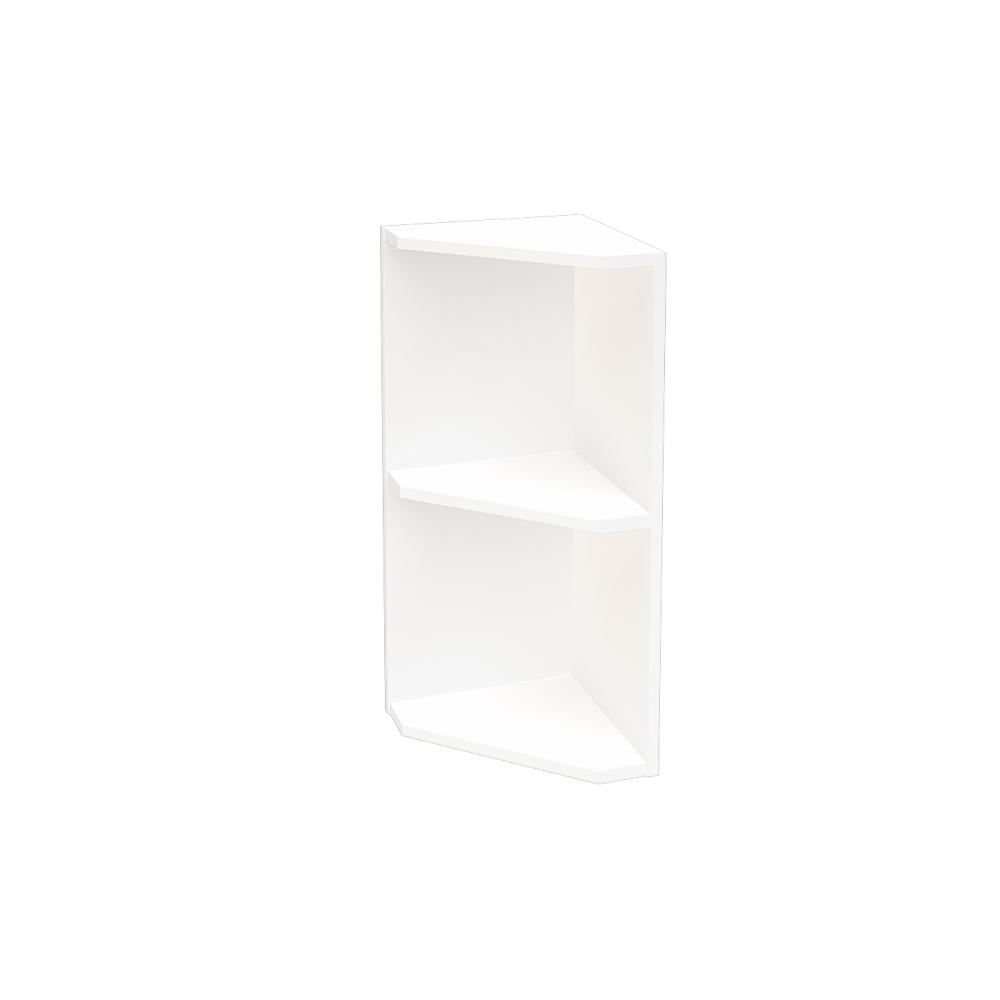 Шкаф верхний угловой ШВПУ 300 НИЦЦА (Дуб фактурный Кремовый) 300 мм