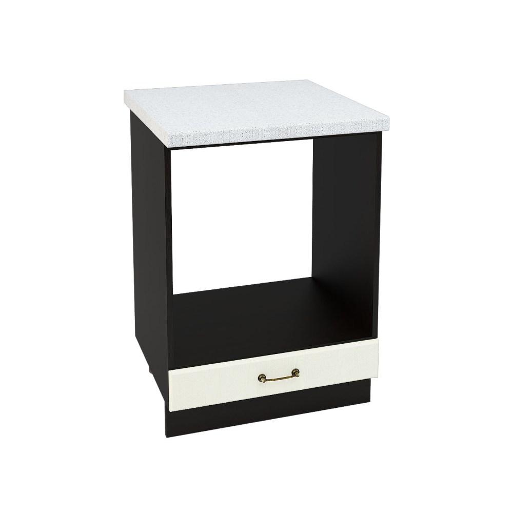 Шкаф нижний под духовку ШНД 600 НИЦЦА (Дуб фактурный Кремовый) 600 мм