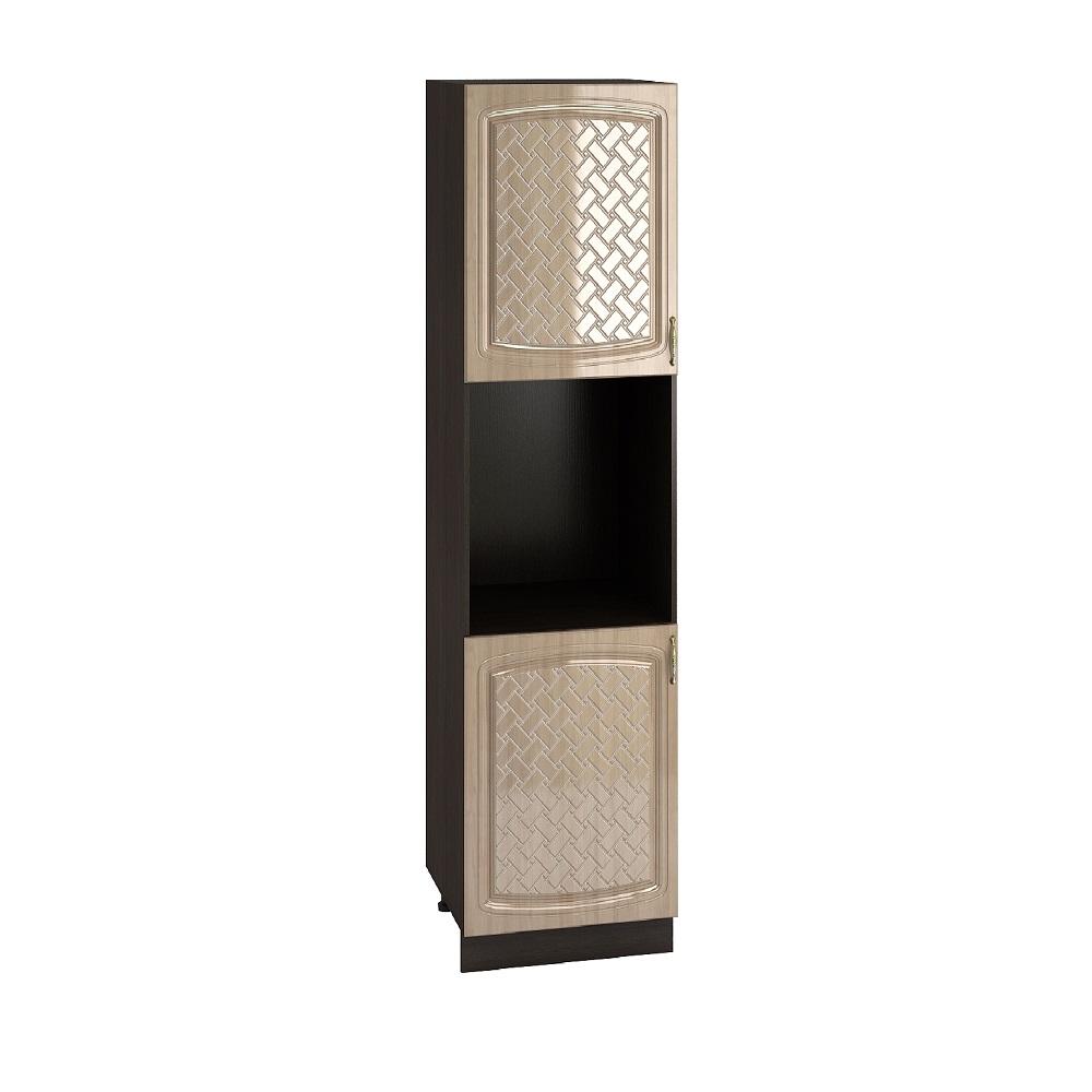 Шкаф пенал высокий ШП 600Н СИТИ (Анегри глянец) 600 мм