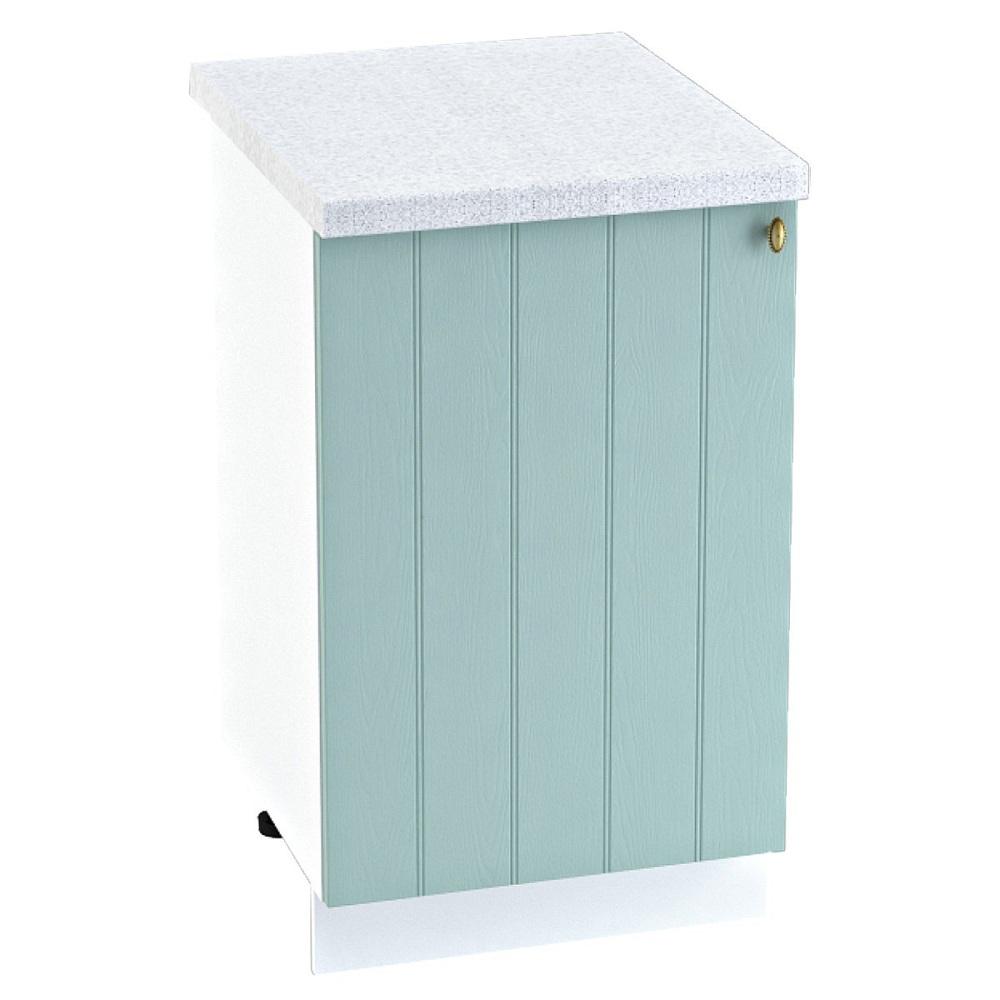 Шкаф нижний ШН 500 ПРОВАНС (Голубой) 500 мм