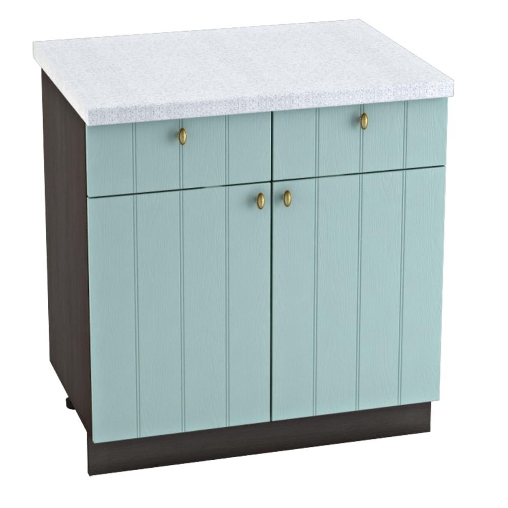 Шкаф нижний с 1 ящиком ШН1Я 800 ПРОВАНС (Голубой) 800 мм