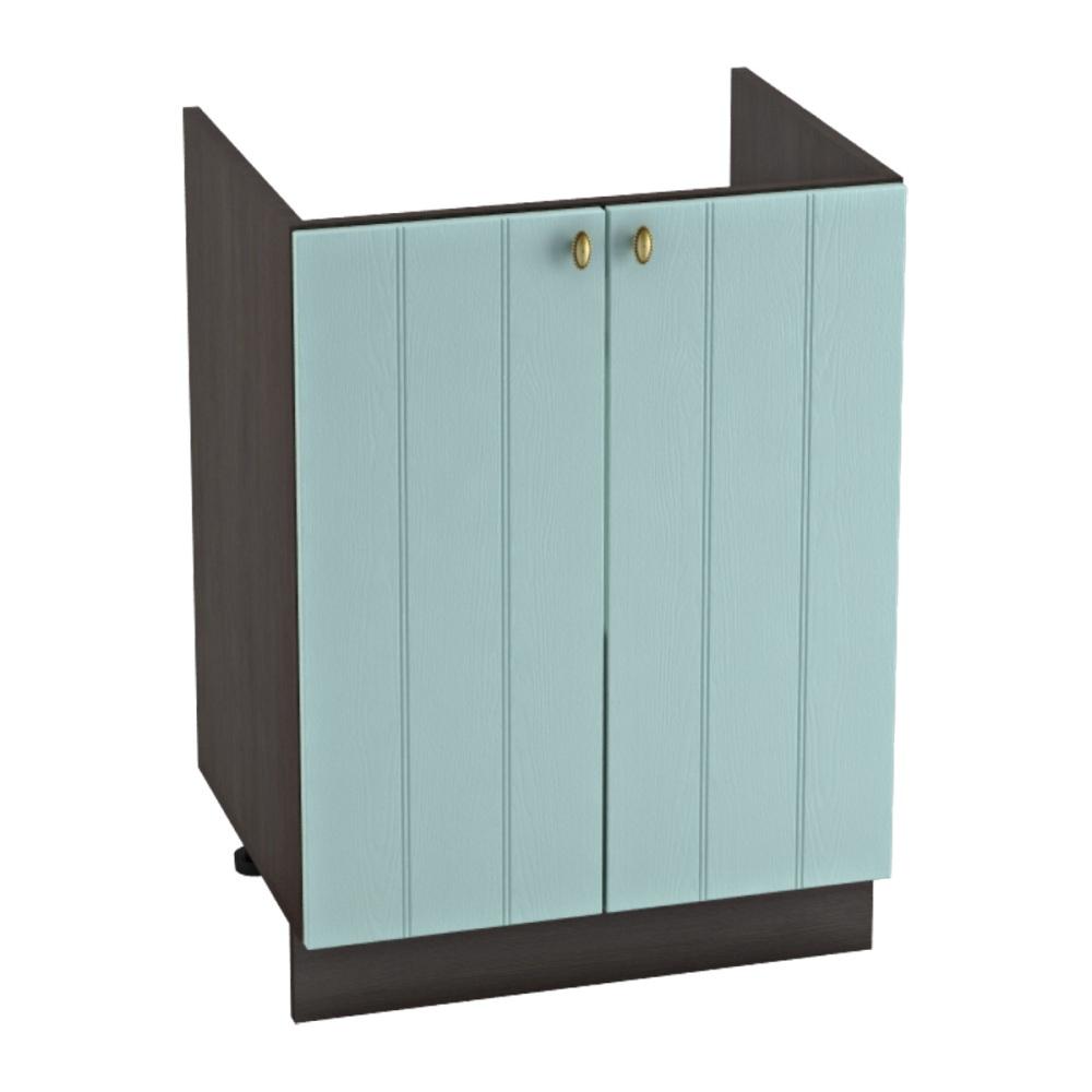 Шкаф нижний под мойку ШНМ 600 ПРОВАНС (Голубой) 600 мм