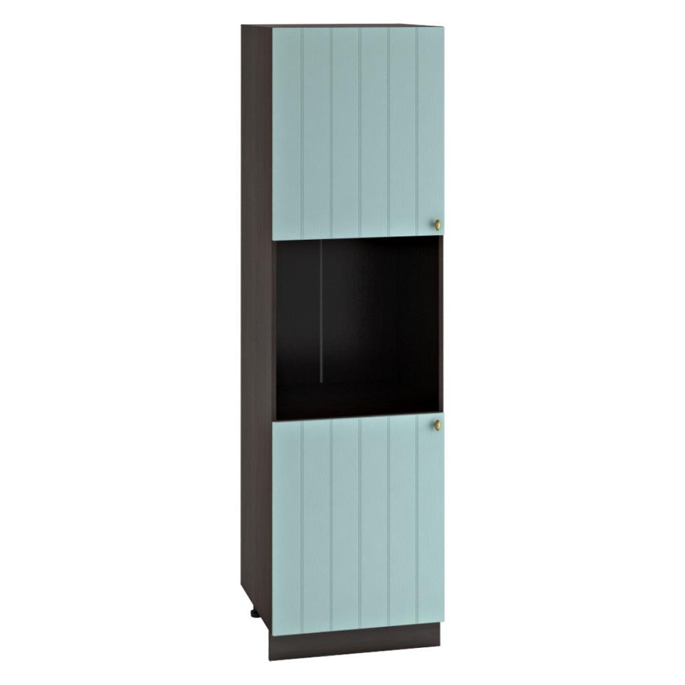 Шкаф пенал ШП 600 ПРОВАНС (Голубой) 600 мм