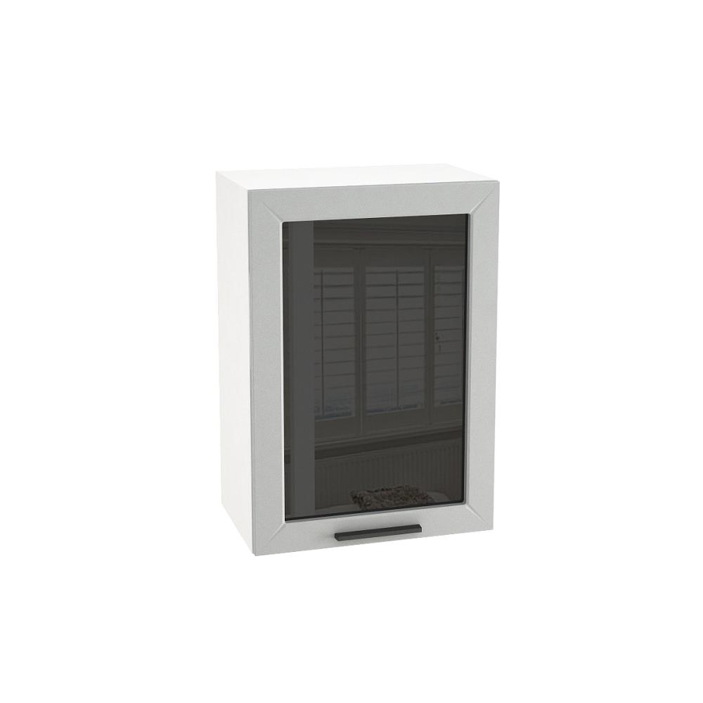 Шкаф верхний со стеклом ШВС 500 ГЛЕТЧЕР (Гейнсборо) 500 мм