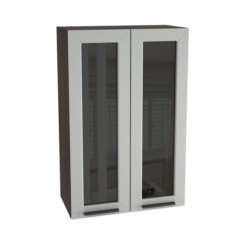 Шкаф верхний со стеклом высокий ШВС 609 ГЛЕТЧЕР (Гейнсборо) 600 мм