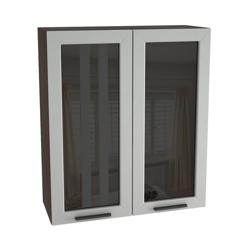 Шкаф верхний со стеклом высокий ШВС 809 ГЛЕТЧЕР (Гейнсборо) 800 мм