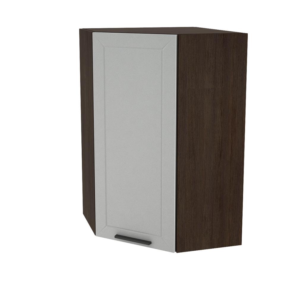 Шкаф верхний угловой высокий ШВУ 599 ГЛЕТЧЕР (Гейнсборо) 590 мм