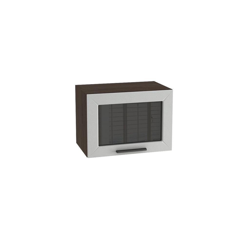 Шкаф верхний горизонтальный со стеклом ШВГС 500 ГЛЕТЧЕР (Гейнсборо) 500 мм