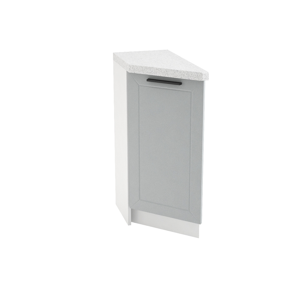 Шкаф нижний угловой торцевой левый ШНТ 300 L ГЛЕТЧЕР (Гейнсборо) 300 мм