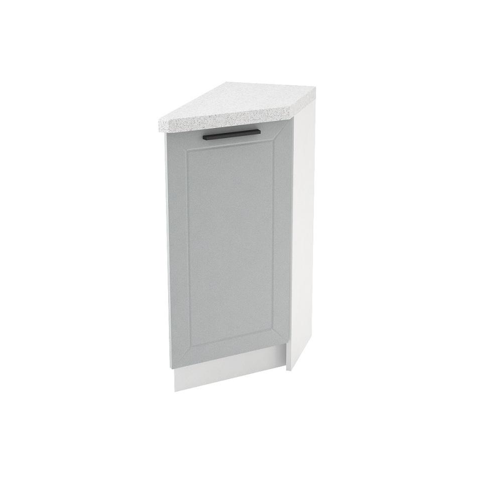 Шкаф нижний угловой торцевой правый ШНТ 300 R ГЛЕТЧЕР (Гейнсборо) 300 мм