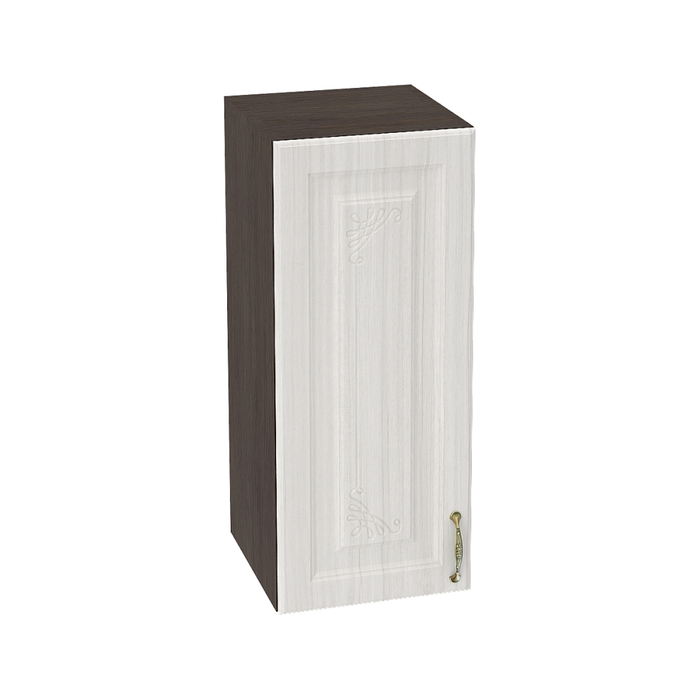 Шкаф верхний ШВ 300 ВИКТОРИЯ (Сандал белый) 300 мм