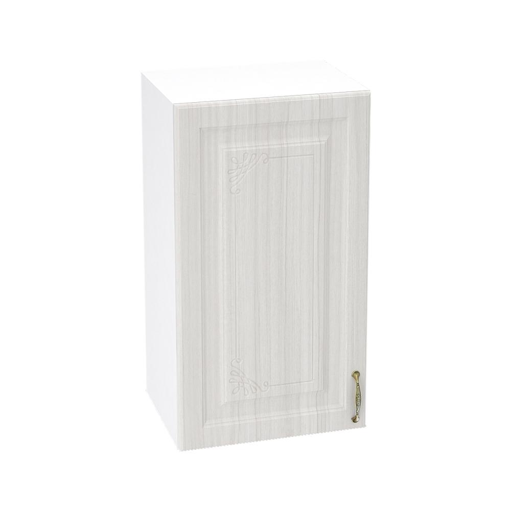 Шкаф верхний ШВ 400 ВИКТОРИЯ (Сандал белый) 400 мм