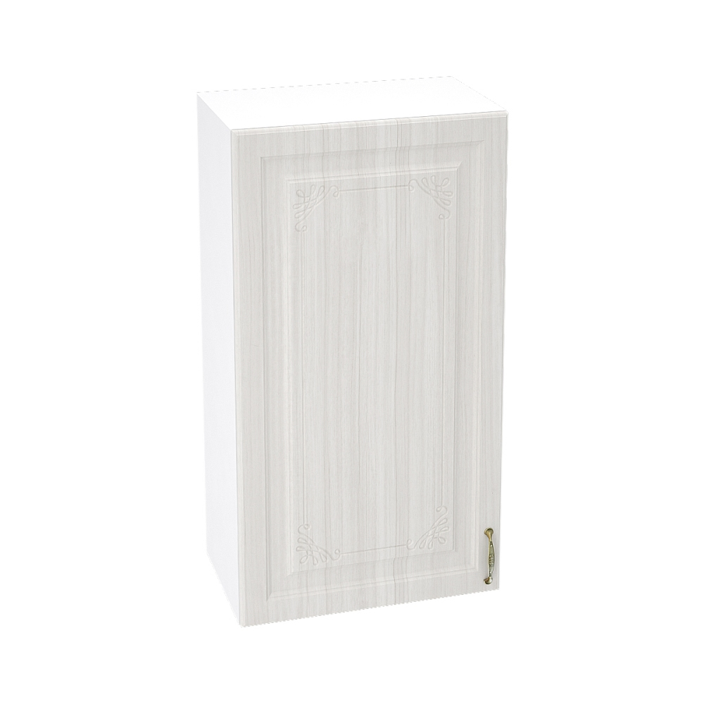 Шкаф верхний высокий ШВ 509 ВИКТОРИЯ (Сандал белый) 500 мм