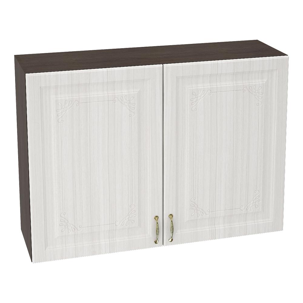 Шкаф верхний ШВ 1000 ВИКТОРИЯ (Сандал белый) 1000 мм