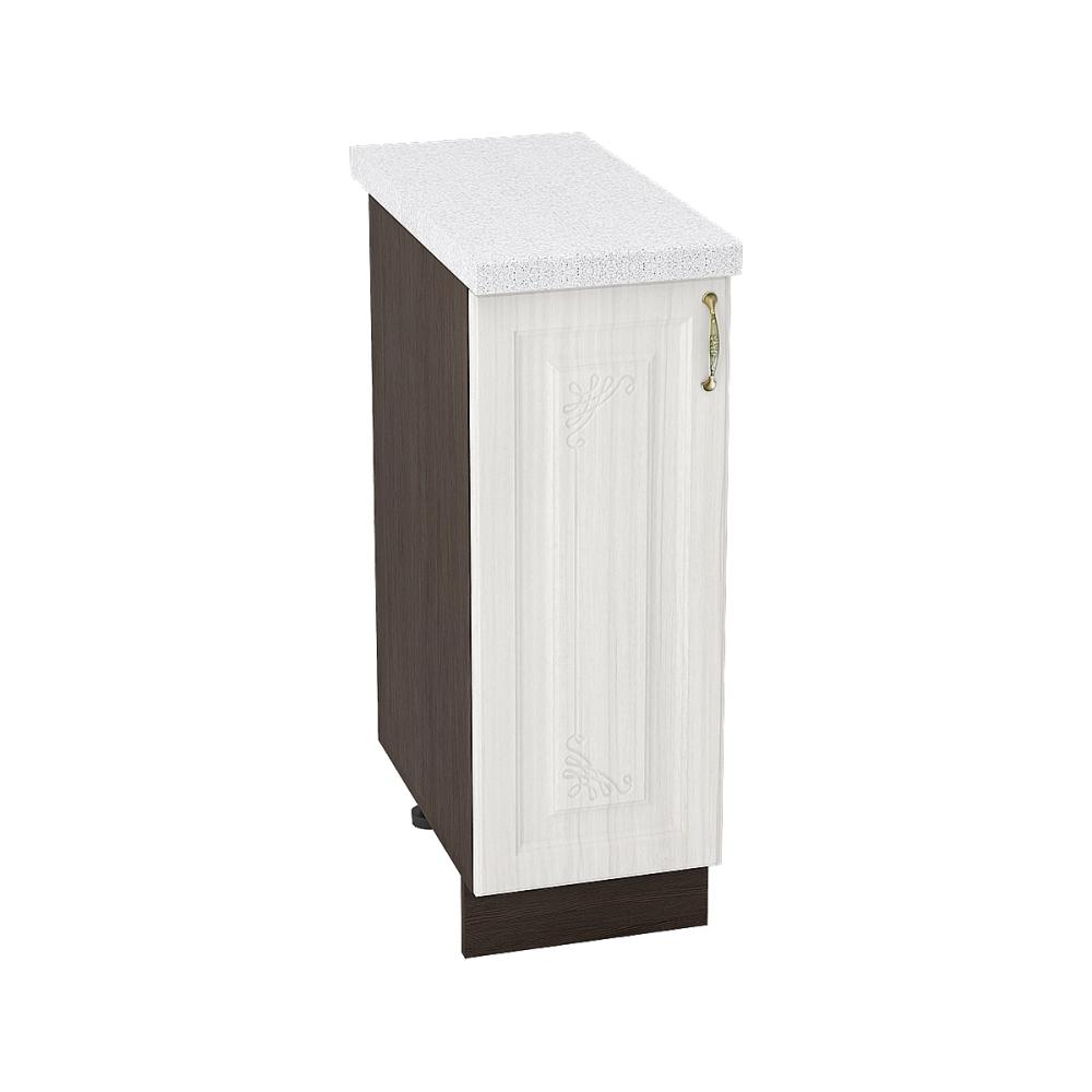 Шкаф нижний ШН 300 ВИКТОРИЯ (Сандал белый) 300 мм