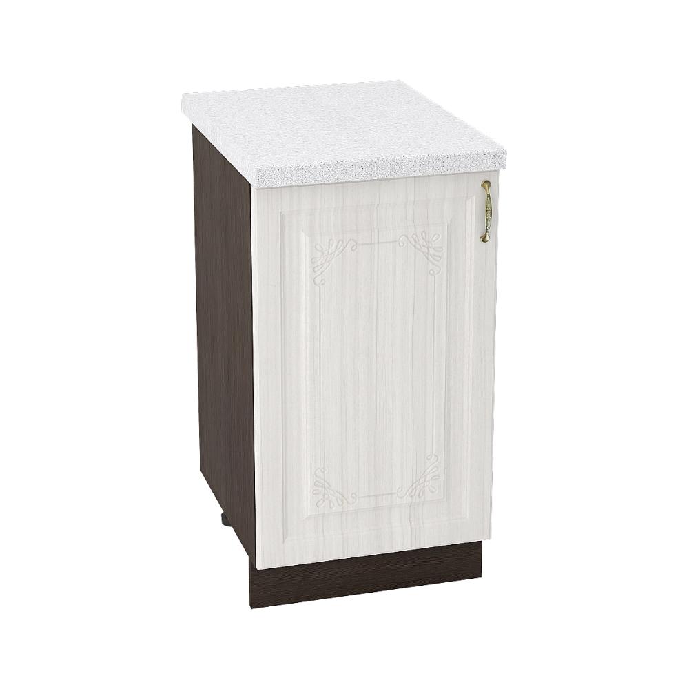 Шкаф нижний ШН 450 ВИКТОРИЯ (Сандал белый) 450 мм
