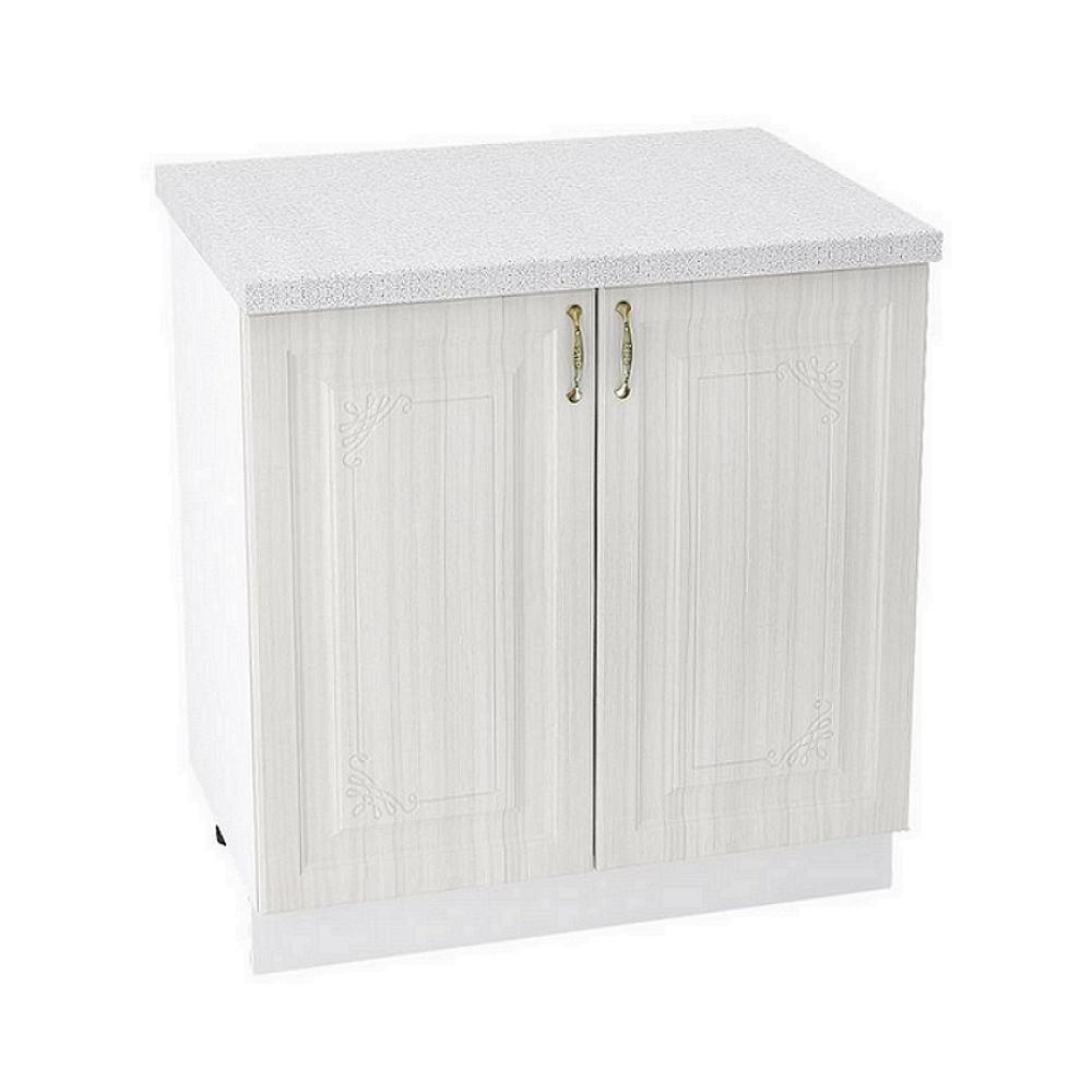 Шкаф нижний ШН 800 ВИКТОРИЯ (Сандал белый) 800 мм
