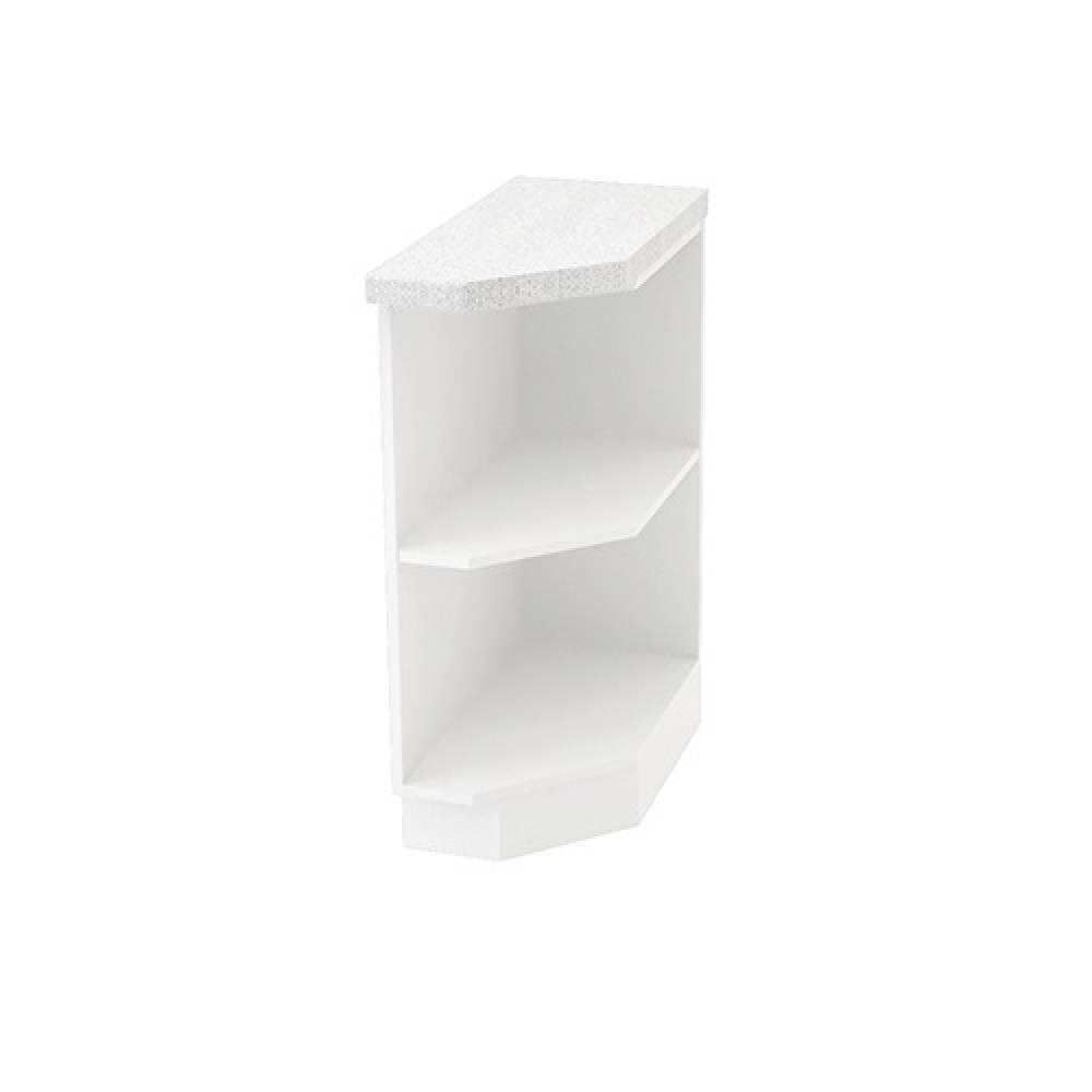 Шкаф нижний угловой правый ШНПУ 300 R ВИКТОРИЯ (Сандал белый) 300 мм