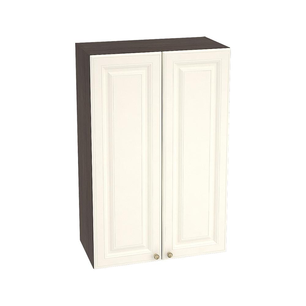 Шкаф верхний высокий ШВ 609 ВЕРСАЛЬ (Ваниль софт) 600 мм