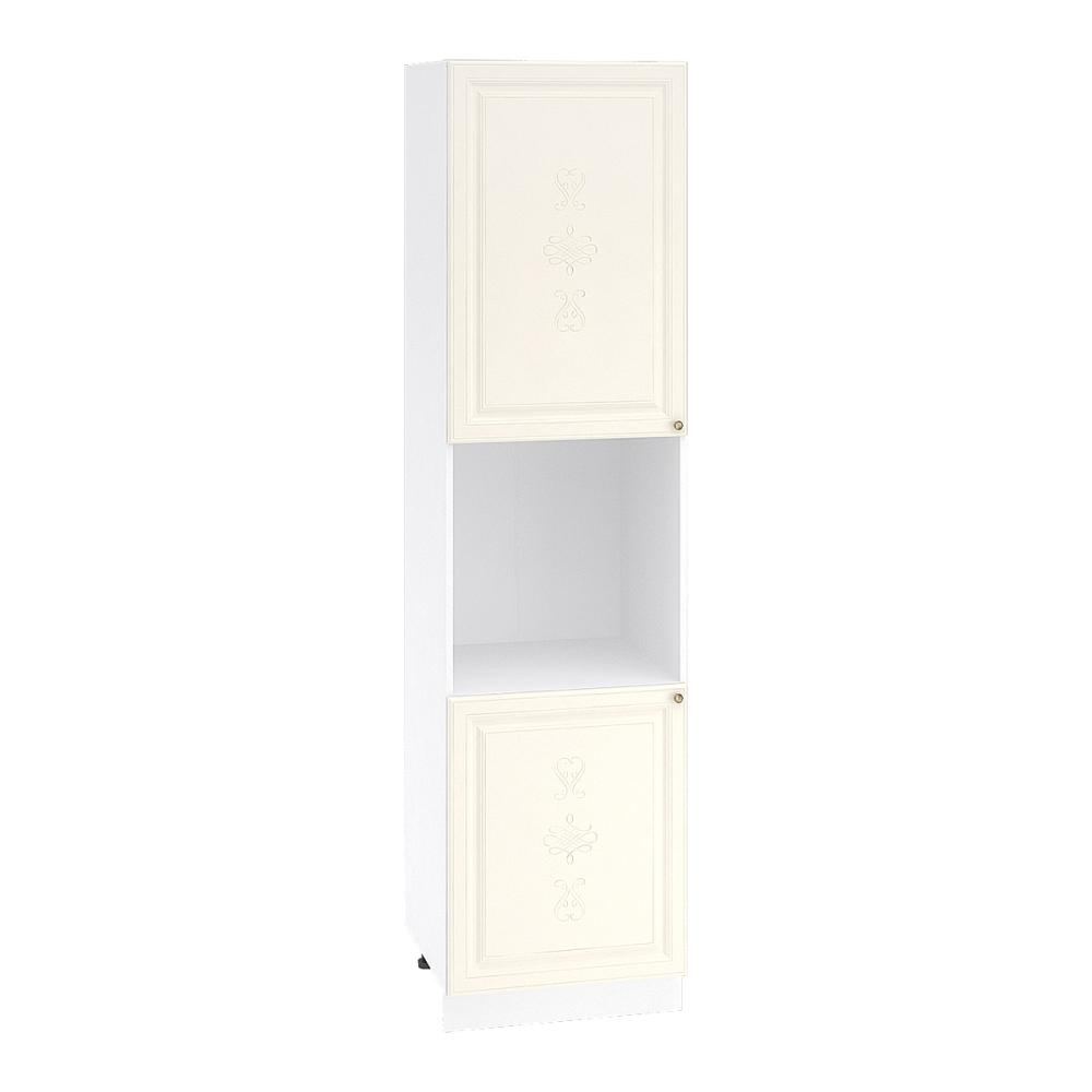 Шкаф пенал высокий ШП 600Н ВЕРСАЛЬ (Ваниль софт) 600 мм