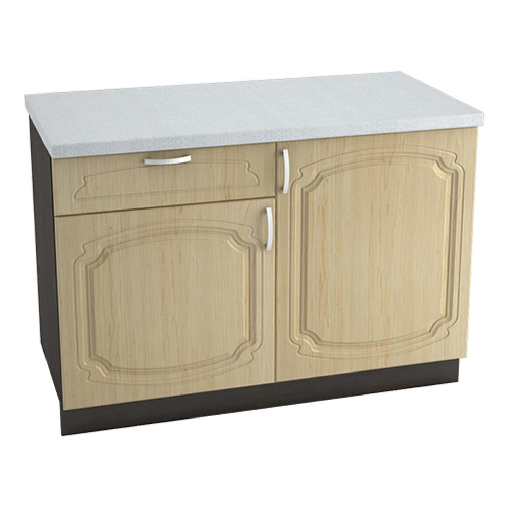 Шкаф нижний с 1 ящиком ШН1Я 1200 НАСТЯ (Береза) 1200 мм