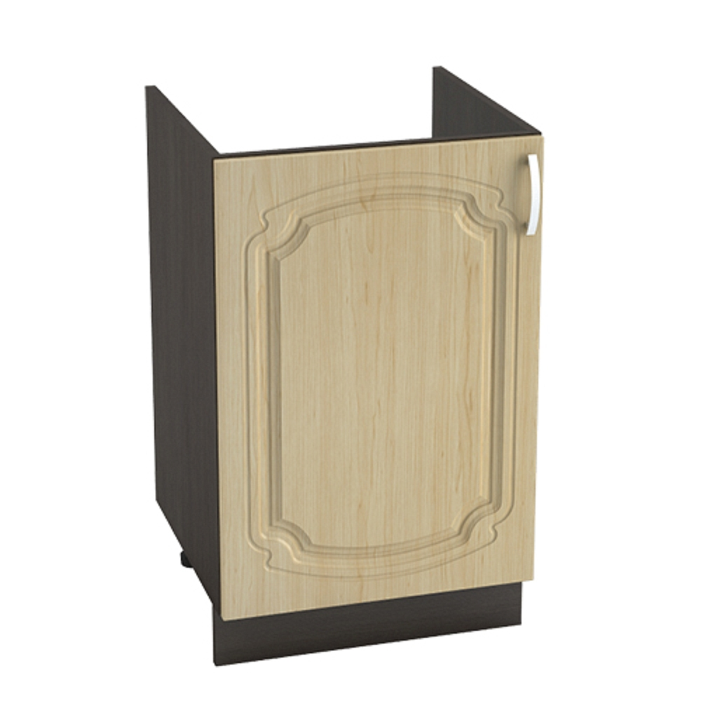 Шкаф нижний под мойку ШНМ 500 НАСТЯ (Береза) 500 мм