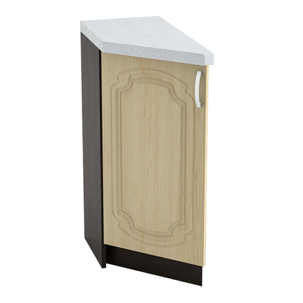 Шкаф нижний угловой торцевой левый ШНТ 300 L НАСТЯ (Береза) 300 мм
