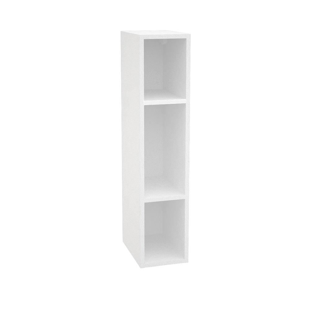 Шкаф верхний ШВБ 159 ТЕРРА (Ваниль софт - декор Ель карпатская) 150 мм