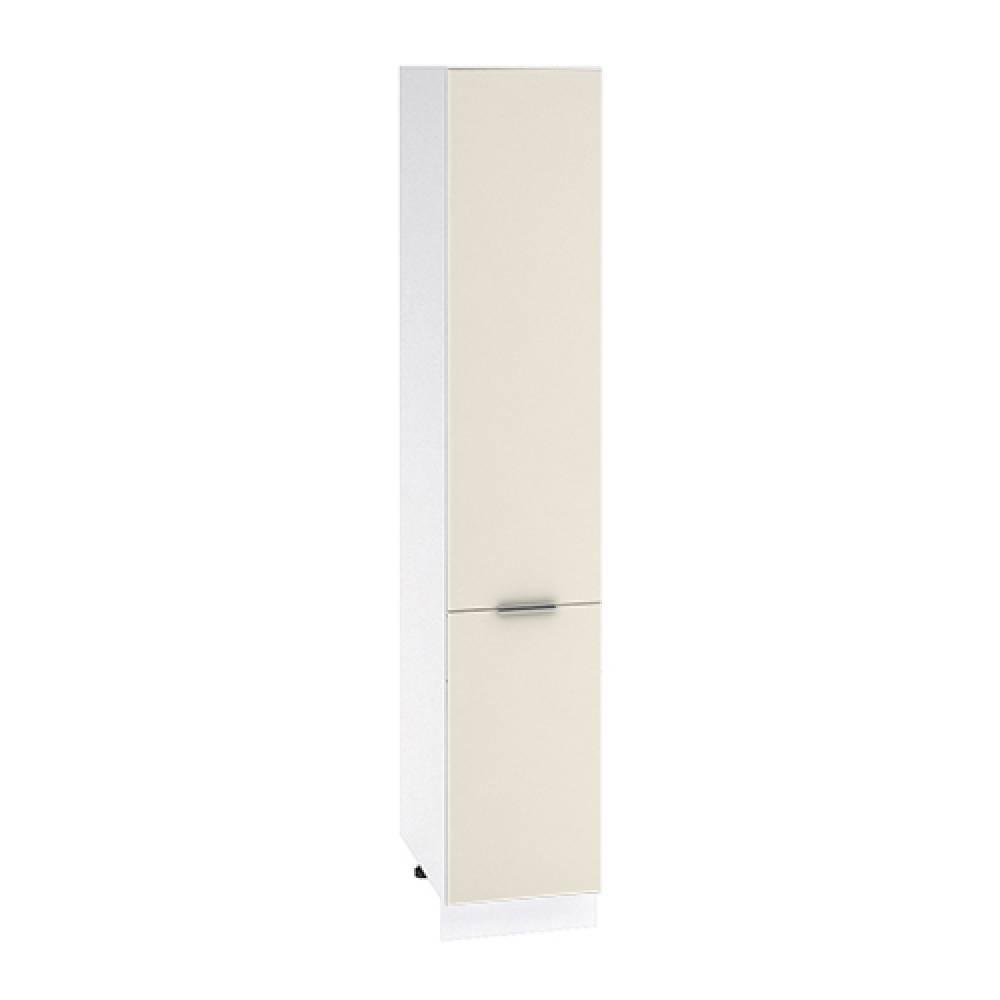 Шкаф пенал высокий ШП 400Н ТЕРРА (Ваниль софт) 400 мм