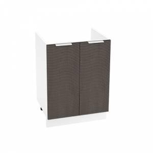 Шкаф нижний под мойку ШНМ 600 ТЕРРА W (Венге) 600 мм