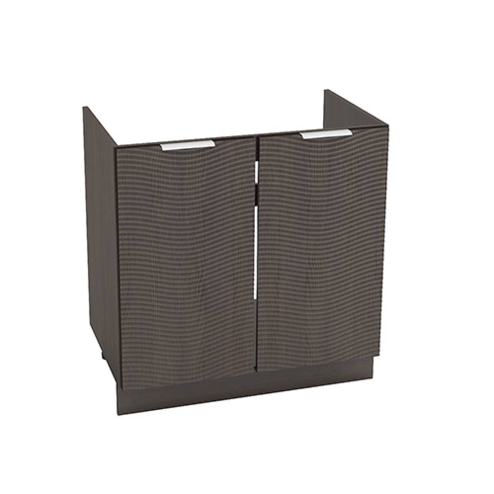 Шкаф нижний под мойку ШНМ 800 ТЕРРА W (Венге) 800 мм