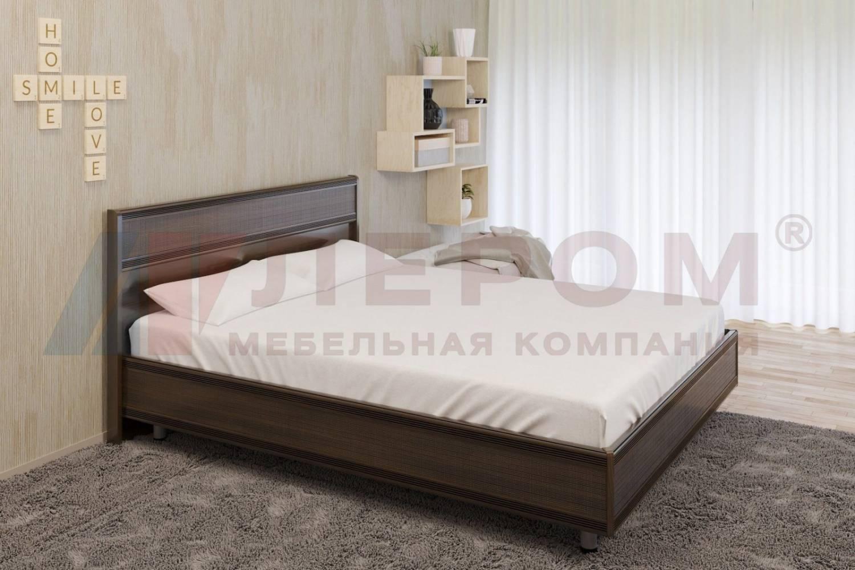 Кровать 1600 с ортопедическим основанием КР-2003 КАРИНА (Акация Молдау)