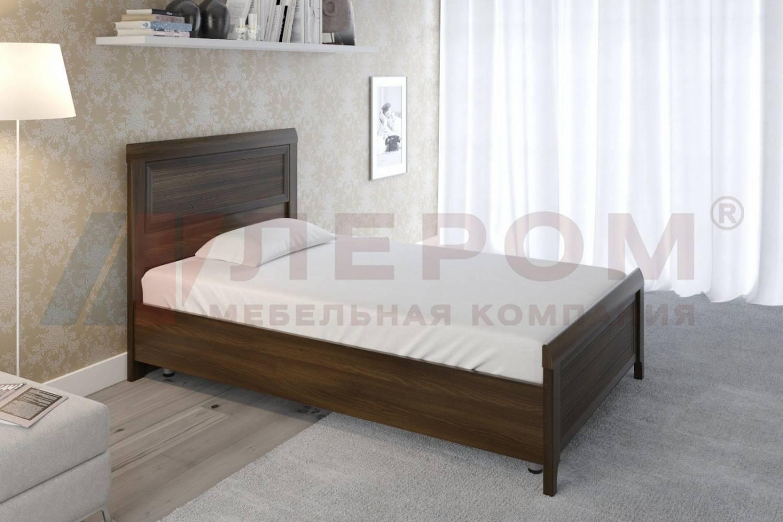 Кровать 1200 с ортопедическим основанием КР-2021 КАРИНА (Акация Молдау)