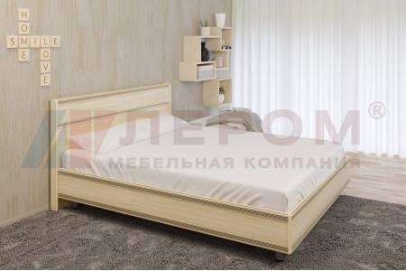 Кровать 1400 с ортопедическим основанием КР-2002 КАРИНА (Ясень Асахи)