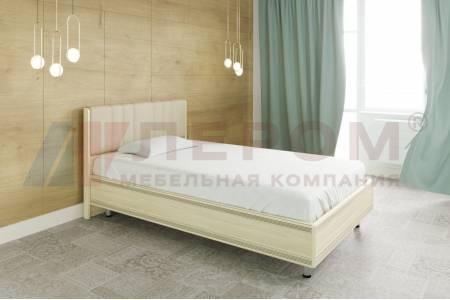 Кровать 1400 с ортопедическим основанием КР-2012 КАРИНА (Ясень Асахи)