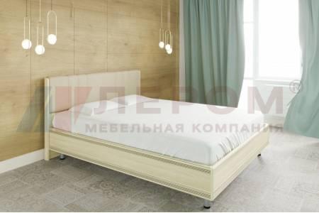 Кровать 1600 с ортопедическим основанием КР-2013 КАРИНА (Ясень Асахи)