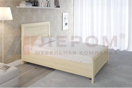 Кровать 1400 с ортопедическим основанием КР-2022 КАРИНА (Ясень Асахи)