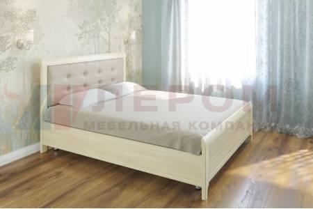 Кровать 1600 с ортопедическим основанием КР-2033 КАРИНА (Ясень Асахи)