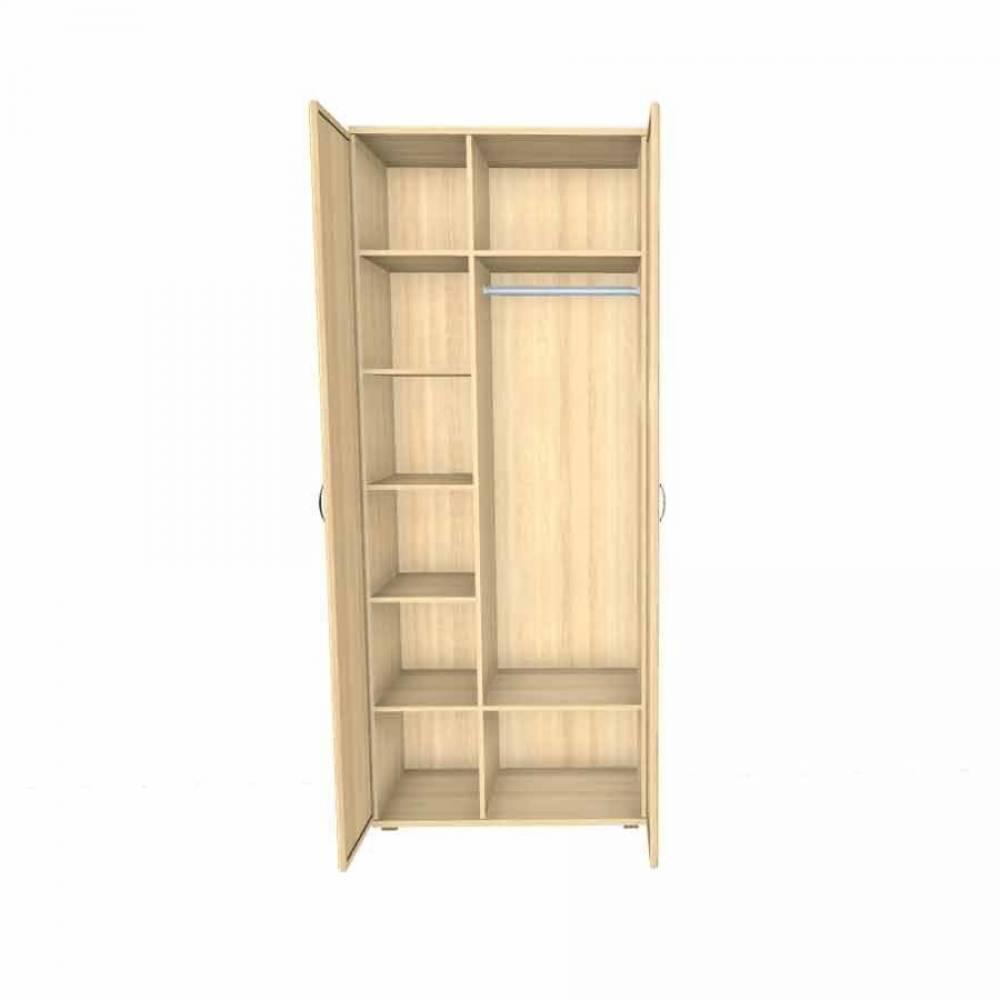 Шкаф для одежды и белья ШК-1009 КАРИНА (Ясень Асахи)