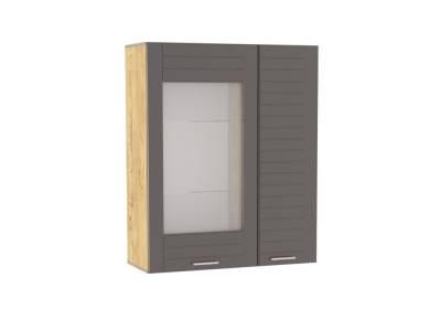 Шкаф навесной НМ 011.29 LIVORNO (Дуб Бунратти/Софт Графит)