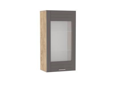 Шкаф навесной НМ 011.30 LIVORNO (Дуб Бунратти/Софт Графит)